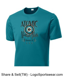 Large Logo Atomic Shirt Design Zoom